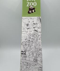 "Poster coloriage géant ""zoo"""