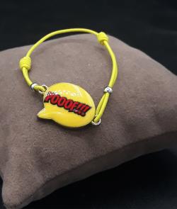 bracelet onomatopée