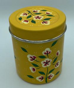 Pot à thé métal peint à la...