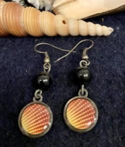 Boucles d'oreilles Litchi