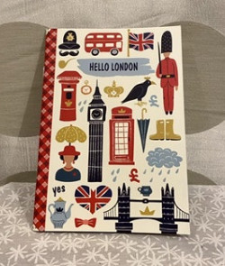 Cahier illustré London