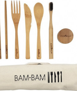 BAMBOO EATING SET