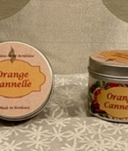 Bougie cire de soja «Orange...