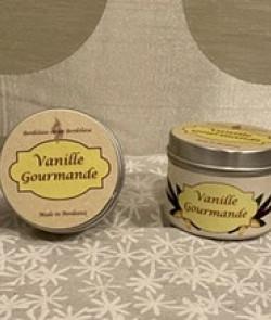 Bougie cire soja «vanille...