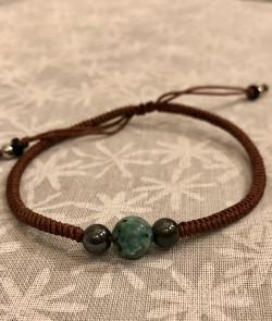 Bracelet simple Marron