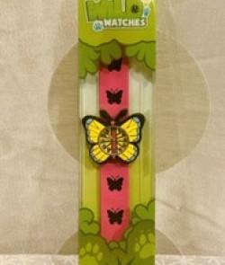 Montre enfant papillon flip...