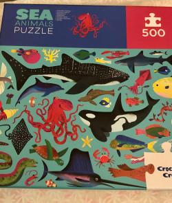 Puzzle : Animals sea