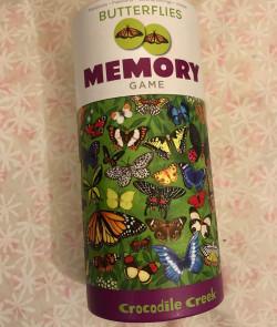 Memory game : Butterflies