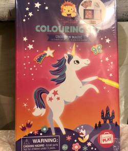 Set de coloriages : Licorne...