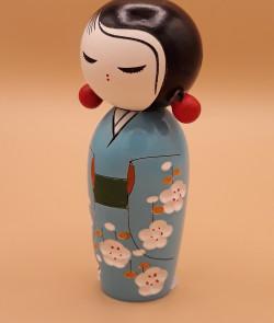 Poupée déco japonaise