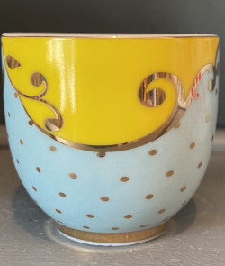 Coquetier porcelaine