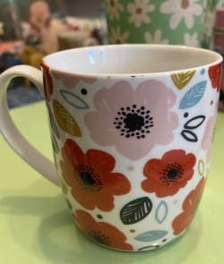 Mug Flowers céramique