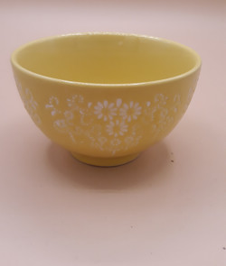 Bol japonais céramique jaune